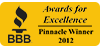 Houston TX Storage company Proguard Self Storage was chosen as an honoree at the Better Business Bureau 2012 Awards for Excellence.
