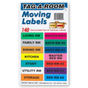 Home Moving Labels 140pc pack