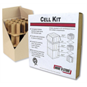 "Cell Kit for Dish Box 18""x18""x28"""