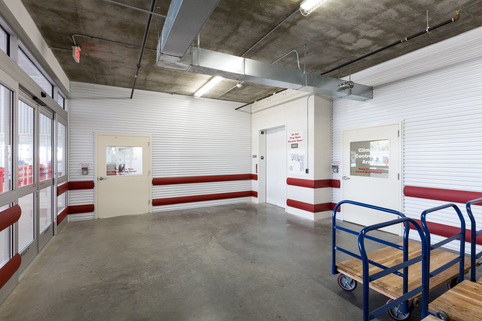 self storage units in the Midtown Montrose Houston