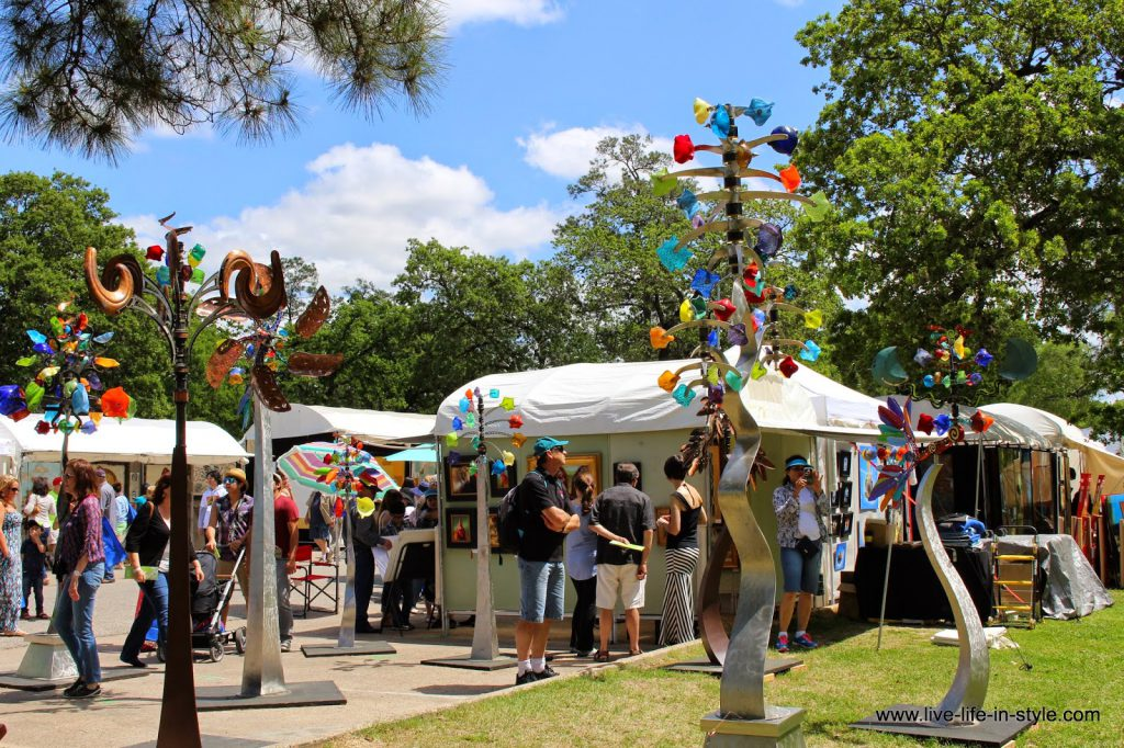 Bayou City Art Festival Memorial Park