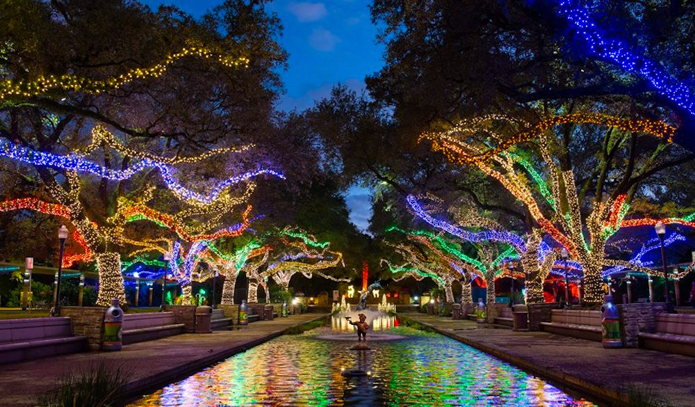 Holiday Lights in Houston