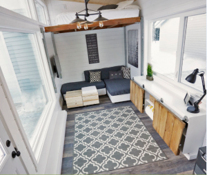 Personal storage ideas & 5 Clever Storage Ideas from an Amazing Tiny House - Proguard Self ...