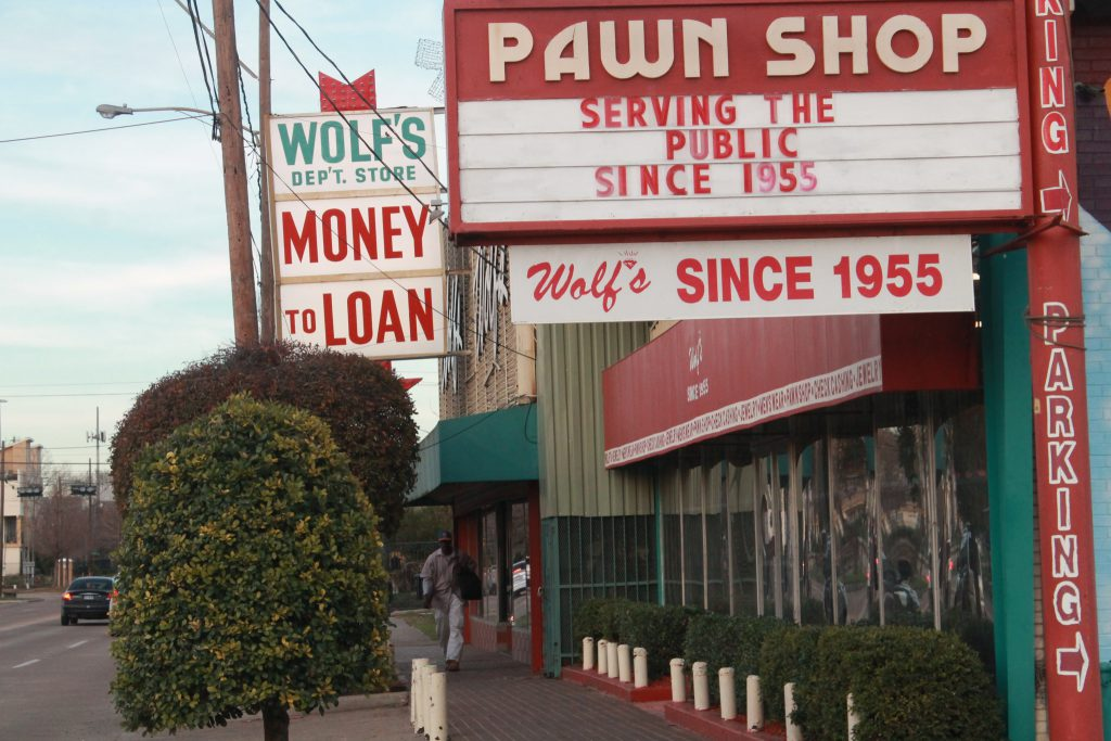 Wolf's Department Store and Pawn Shop